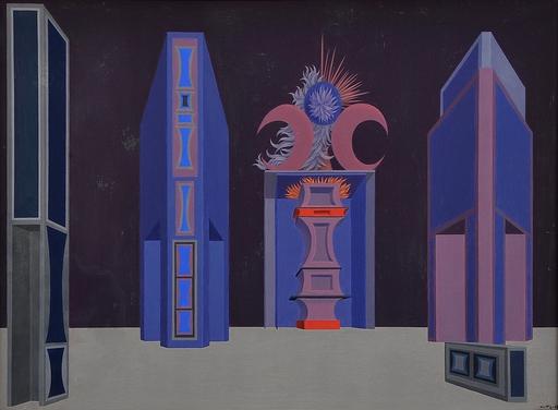 Wolfgang HUTTER - Pintura - Bühnenbild,