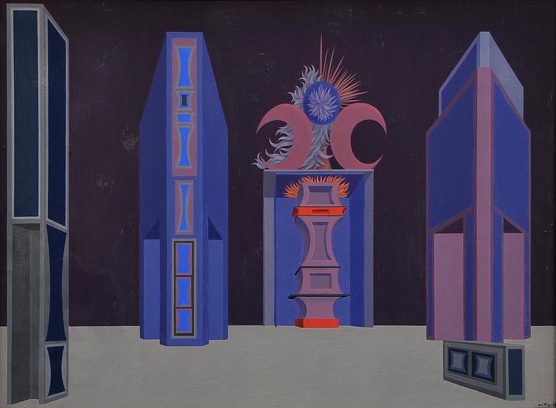 Wolfgang HUTTER - Painting - Bühnenbild,