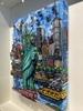 Charles FAZZINO - Peinture - Liberty pride in N.Y.C