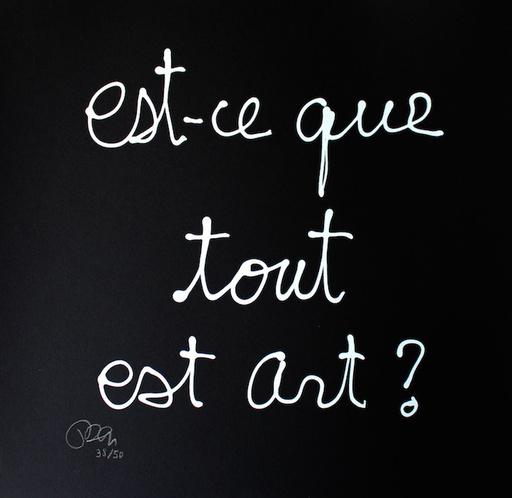 BEN - Print-Multiple - Est-ce que tout est art ?
