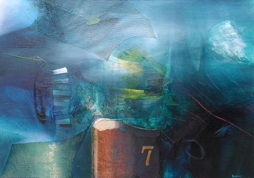 Fausto MINESTRINI - Pintura - Nella nebbia...