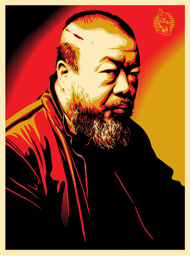 Shepard FAIREY - Druckgrafik-Multiple - Tribute to Ai Weiwei