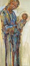 Ludmilla MOSHEK - Painting - Madonne