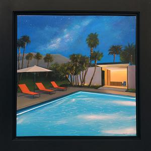 Daniel RAYNOTT - Painting - California sky
