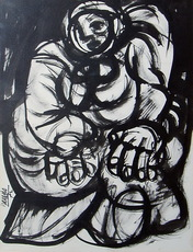 José María BARREIRO - Dibujo Acuarela