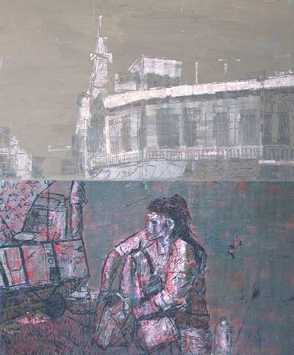 Kritsana CHAIKITWATTANA - Pintura - Conflict (2)
