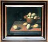 Manolo RUIZ PIPO - Peinture - Eggs still life