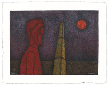 Rufino TAMAYO (1899-1991) - Figura en Rojo