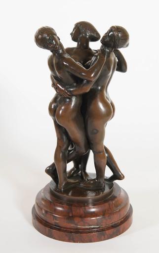 Antoine Louis BARYE - Sculpture-Volume - Les trois grâces