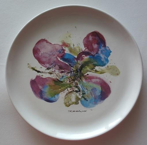 ZAO Wou-Ki - Ceramic - Orchidée