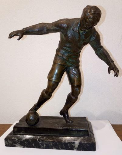 Maurice GUIRAUD-RIVIERE - Sculpture-Volume - Futbolista