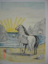 乔治•德•基里科 - 版画 - Cavalli mediterranei