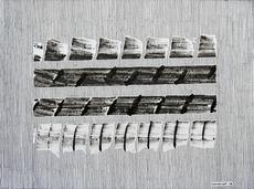 "Jérémie IORDANOFF - Dibujo Acuarela - N°662  ""Stegosaurus"""