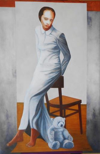 Christian SATIN - Pittura - No Title    (Cat N° 6573)