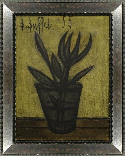Bernard BUFFET - Gemälde - Petit bouquet