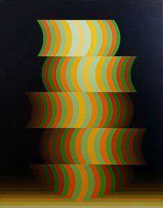 Enrique CAREAGA - Painting - Transformacion Espacio-Temporal OVN 5