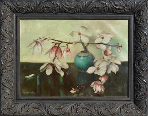Frans David OERDER - Pintura - Magnolias