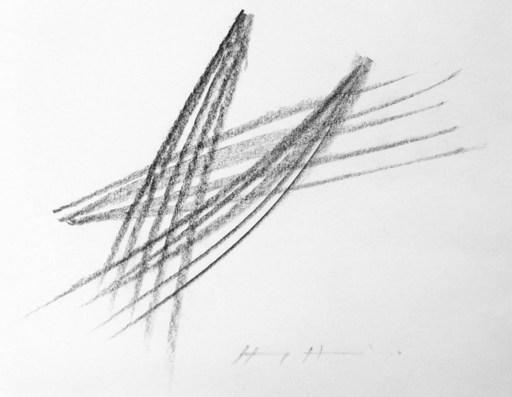 Hans HARTUNG - Disegno Acquarello - HH5510