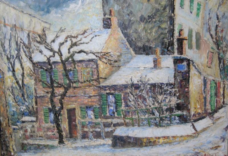 Fernand LAVAL - Pintura - SANS TITRE