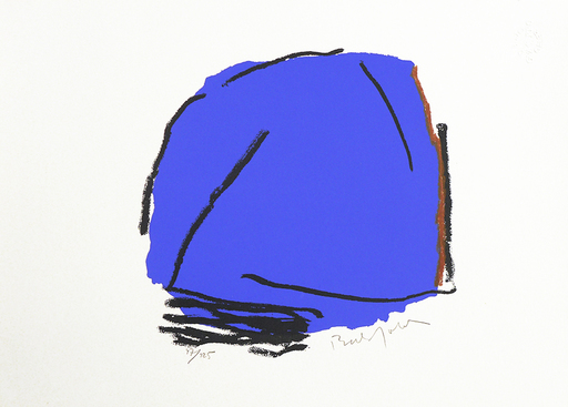 Erwin BECHTOLD - Druckgrafik-Multiple - Palma Azul