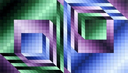 Victor VASARELY - Estampe-Multiple - Xonau