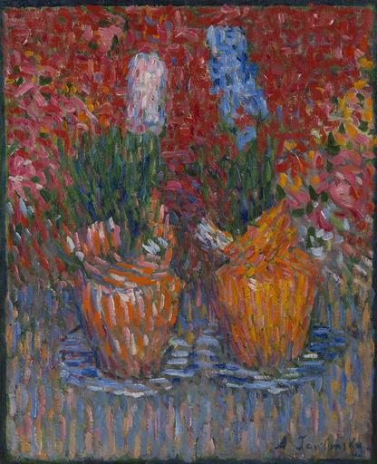 Alexej VON JAWLENSKY - Painting - Hyazinthentöpfe (Hyacinth-pots)