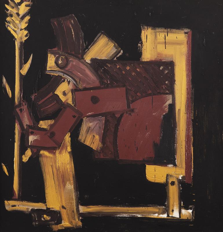 Miguel Angel CAMPANO - Painting - Segadora