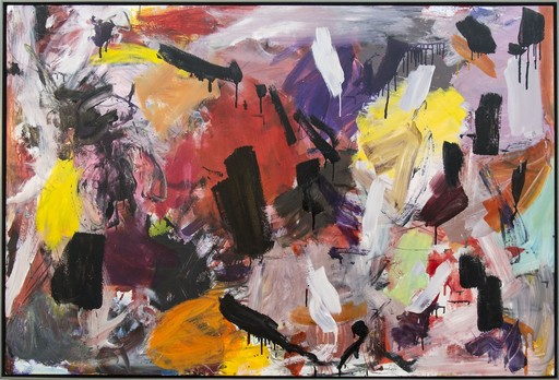 Scott PATTINSON - Pittura - Ouvert No 18