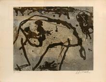 Emil SCHUMACHER - Print-Multiple - 7/1991