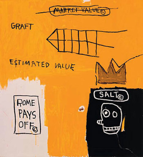 Jean-Michel BASQUIAT - Print-Multiple - Rome Pays Off