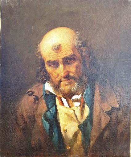 Henri DE CAISNE - Pintura - Portrait d'homme
