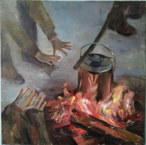 Ohanyan KAMSAR - Pittura - Warm Day In Winter