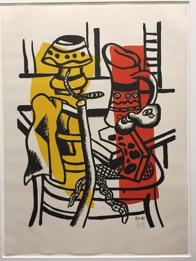 费尔南‧雷杰 - 版画 - La Chaise