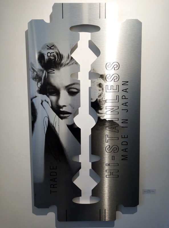 Yves HAYAT - Sculpture-Volume - Lame de Fond - Marilyn
