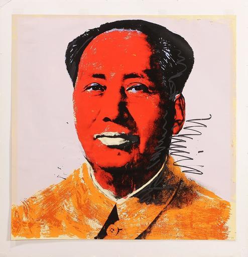 安迪·沃霍尔 - 版画 - Chairman Mao (F&S.II.96)