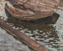 Vladimir Davidovic BARANOV-ROSSINÉ - Painting - A Boat