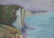 Gustave LOISEAU (1865-1935) - Les Falaises (Normandie)
