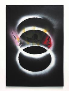 Jean TRIFFEZ - Pittura - Expulse du cercles des hommes