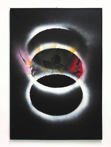 Jean TRIFFEZ - Peinture - Expulse du cercles des hommes