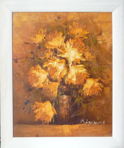 Franco RISPOLI - Painting - bouquet de fleurs