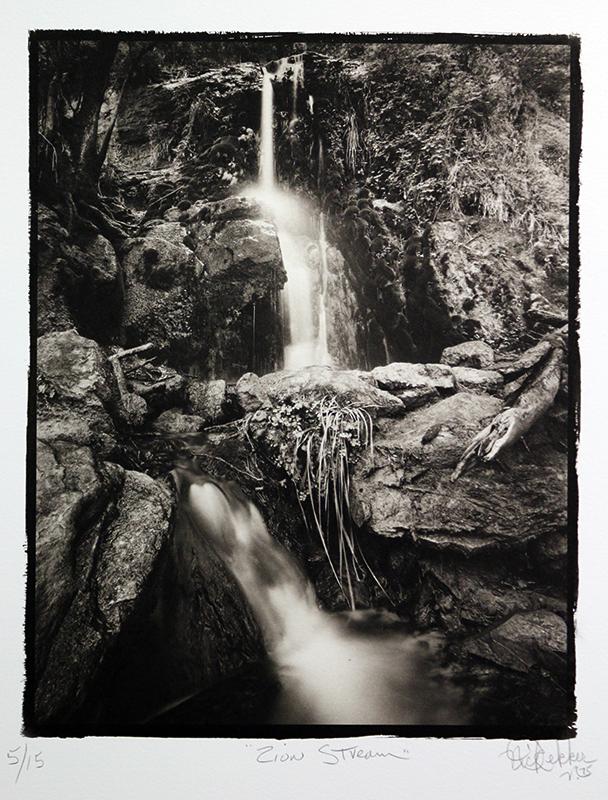 Nick DEKKER - Fotografia - Zion Stream