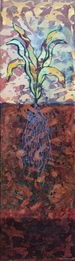 Julio SANJURJO ALER - Gemälde - PLANTA