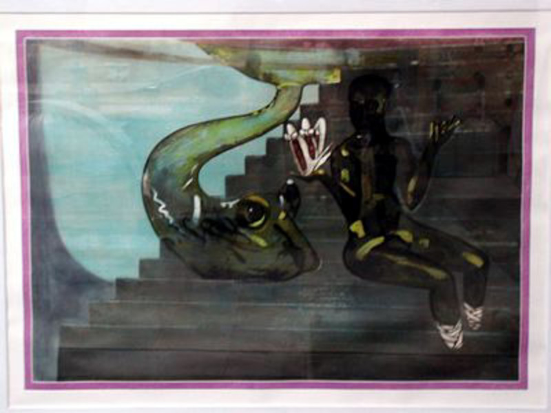 Francesco CLEMENTE - Estampe-Multiple - Friendship