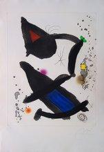 Joan MIRO - Print-Multiple - King David