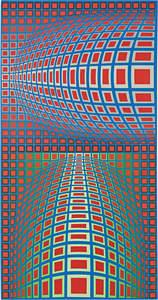 Victor VASARELY - Painting - RENG-MC