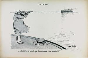Louis ABEL-TRUCHET - 版画 - LES LACHES