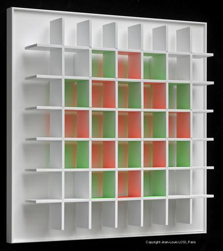 Luis TOMASELLO - Print-Multiple - Grille Chromoplastique B