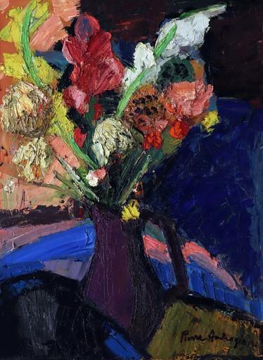 Pierre AMBROGIANI - Peinture - Bouquet
