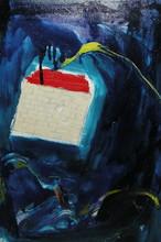Mario SCHIFANO - Peinture - senza titolo