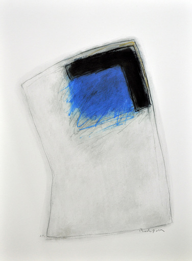 Erwin BECHTOLD - Print-Multiple - Koncentration Blue